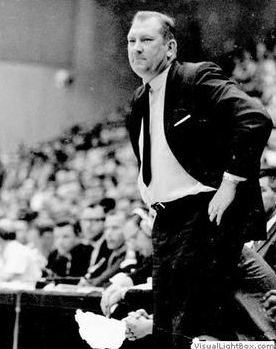 Don Haskin, UTEP's Men Basketball Team Coach from 1961 to 1999