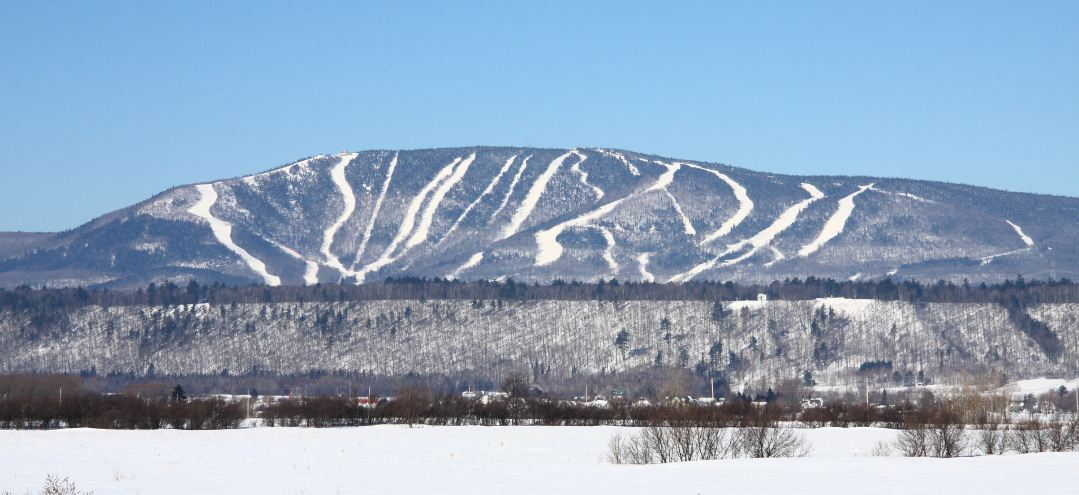 One of Quebec's most famous ski location, Mont-Sainte-Anne