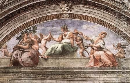 Was Michelangelo Inspired by Raphael too